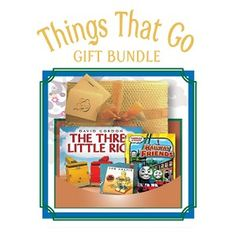Things That Go - Age 3 and up - This bundle is designed for the child who can't wait to get up and go by bike, train, car or boat! Includes: The Three Little Rigs (book), Thomas and Friends' Railway Friends (DVD) and Some Assembly Required (CD). - $45.95