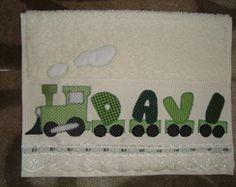 toalha lavabo bebê patchwork