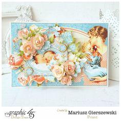 Precious Memories card by Mariusz #graphic45