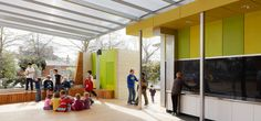 Carlton North Primary School - Hayball Architects. Built for purpose outdoor space - outdoor classroom.