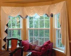 1000+ ideas about 3 Window Curtains on Pinterest | Living room ...