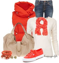 Casual in coral