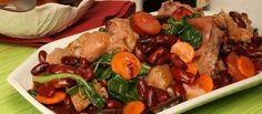 Receita de Feijoada à transmontana. Descubra como cozinhar Feijoada à transmontana de maneira prática e deliciosa com a Teleculinaria!