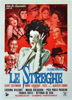 Visconti: Le Streghe (The Witches) great film of interwoven stories.