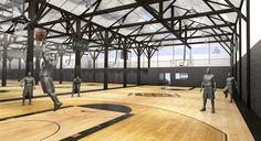 Un premier complexe de basket indoor ouvrira en décembre près de Paris. Evan Fournier et Rudy Gobert sont partenaires du projet. Paris Basketball