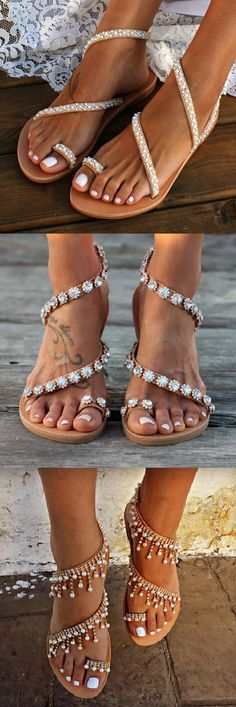 Now🛒Beautiful Bride Sandals Styles for Your Choice. - Bridal Gowns Shop Now🛒Beautiful Bride Sandals Styles for Your Choice.Shop Now🛒Beautiful Bride Sandals Styles for Your Choice. - Bridal Gowns Shop Now🛒Beautiful Bride Sandals Styles for Your Choice. Cute Shoes, Me Too Shoes, Boho Fashion, Fashion Shoes, Trendy Fashion, Fashion Ideas, Fast Fashion Brands, Zapatos Shoes, Happy Women