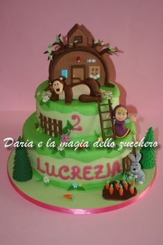 #Torta Masha e l'orso #Masha and the bear cake