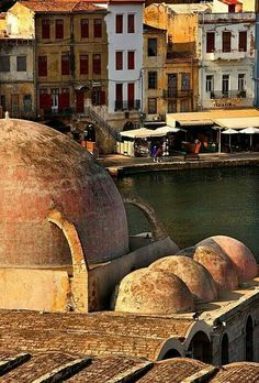 The old Town of Chania, Crete