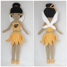 PDF Iridessa the Light Fairy amigurumi doll by SophiasDollsDesign