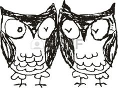 Vector Owl  Stock Vector