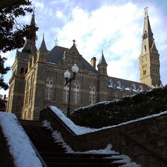 Georgetown University is one of my dream colleges