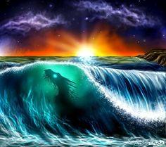 beautiful sea dragon...