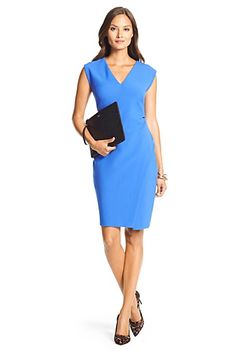 DVF Megan Ceramic Slit Sheath Dress