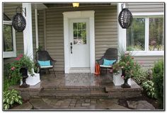 Small Front Porch Ideas for Outdoor Living   Home and Garden Ideas