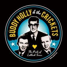 Buddy Holly.  T shirts found on rockin Johnny retro tees. Com
