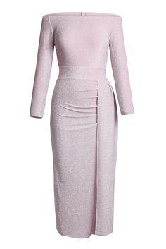 291e7e53f92 Acheter Robe de Soiree Formelle Violet Clair Paillettes Metallique  Scintillante Pas Cher,Vente en Solde