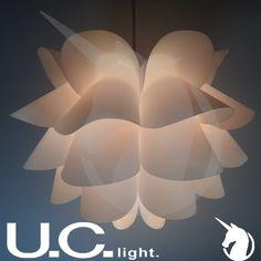Sweet vogue Nordic ikea knappa lotus PP pendant light bedroom lamp PP light sitting room