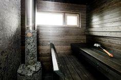 Housing Fair Sauna in Tiileri-koti house. Wash N Go, Beautiful Homes, Bathtub, Koti, Cottage, House, Saunas, Interior Ideas, Bathrooms