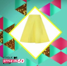 To make heads turn at work, wear a petite A- line skirt with a smart well fitted blouse. Super chic and comfortable! For more style tips, watch Vogue Eyewear MTV #Stylein60: mtvindia.com/style