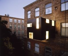 Rucksack Haus. Stefan Eberstadt. (Body and skin - flat extension, lines of sight)
