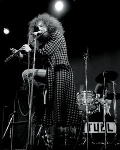 Jethro Tull in action by David Redfern