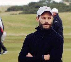 Jamie Dornan attends Alfred Dunhill Links Championship - Final Round on October, 09