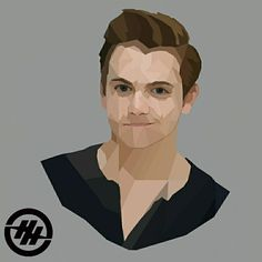 Hunter Hayes lowpoly art . . #digitalart #lowpolyart #lowpoly #hunterhayes
