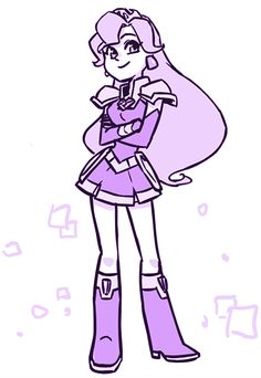 Amethysts princess of gem town