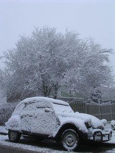 Wintertime 2cv