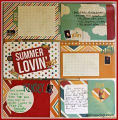 Summer Goals - Lain Ehmann w./ Simple Stories