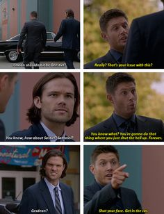 [gifset] 10x05 Fan Fiction #SPN #Dean #Sam