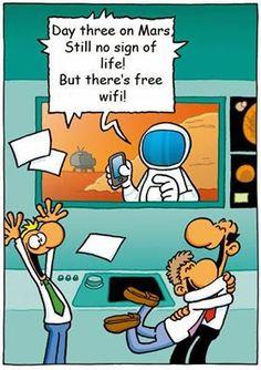 Free WiFi on Mars!
