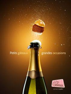 Petits Gâteaux Cupcake Boutique: Champagne    Small Cakes. Big Occasions.  Petits Gâteaux, Cupcake Boutique.