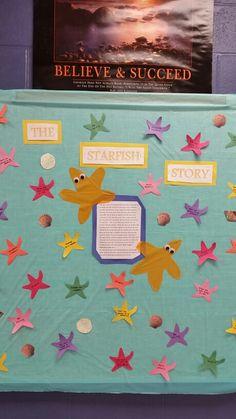 Starfish Sea Star Bulletin Board I Had My Students Paint