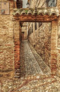 Calles y callejones de #Toledo.