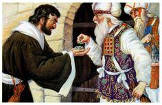"""""""Judas tuvo los mas elevados privilegios religiosos. Fue escogido apóstol y compañero de Jesús, testigo de los milagros y sermones del Maestro, viviendo en sociedad con los demás apóstoles. Ninguno sospecho de su traición cuando Cristo la predijo. Sin embargo, en todo este tiempo su corazón nunca cambio. Por ello es mejor nunca vivir, que haber vivido sin fe, y morir sin la gracia"""""""