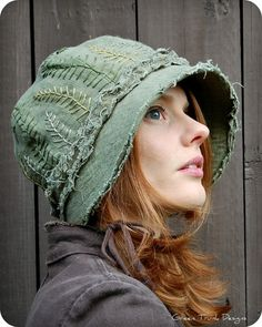 Forest Cloche Hat
