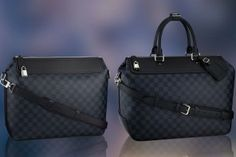 Louis Vuitton's Damier Cobalt Collection is elegant, timeless and fashionably masculine