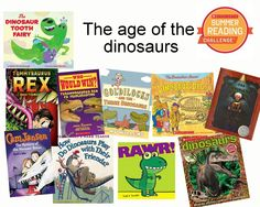 Check out our dino-mite book picks this week! There's only 4 weeks left of the Summer Reading Challenge, so make sure to log your minutes!