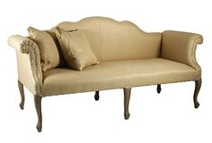 """Like armrests and overall look except maybe a different color. Urbana 74"""" Sofa, Camel on OneKingsLane.com"""