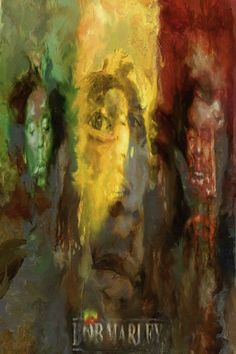 Bob Marley canvas pop art, Bob Marley artwork by famous pop art artist Leah Devora. Canvas Print Pop Art for sale of layered oil painting. Rock Art Painting on Canvas