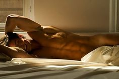 I wouldn't kick him out of bed for eating crackers! or ran onions. or chevy novas.  #EyeCandy