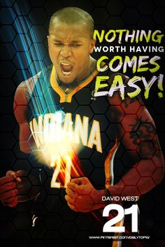 basketball quote | David West talks about pursuing what you want.  #IndianaPacers #DavidWest #NBA #basketballquotes