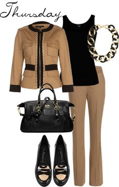 """Etcetera Spring 2013 - Travel Work Week Thursday"" by etcetera-nyc on Polyvore"