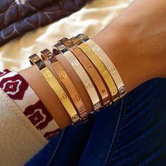 Vissez la bande des détails Bracelet Love Fashion par CaramelCartel