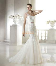 Elégant & Luxueux Appliques Zip Robes de mariée 2015