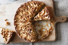 Find the recipe for Flourless Apple, Almond and Ginger Cake and other almond recipes at Epicurious.com
