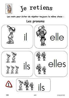 CP * EDL les pronoms