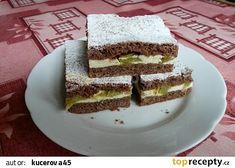 Křehký rebarborový koláč s tvarohem recept - TopRecepty.cz