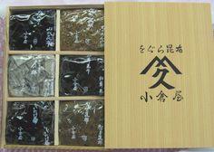 小倉屋昆布の昔乍の塩昆布大阪の味を詰め込んだ味のコレクションをぐら昆布詰め合わせ6色